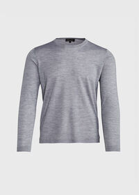 Wool Blend Crewneck Shirt, thumbnail 1