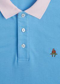 Tri-Color Cotton Pique Logo Polo, thumbnail 2