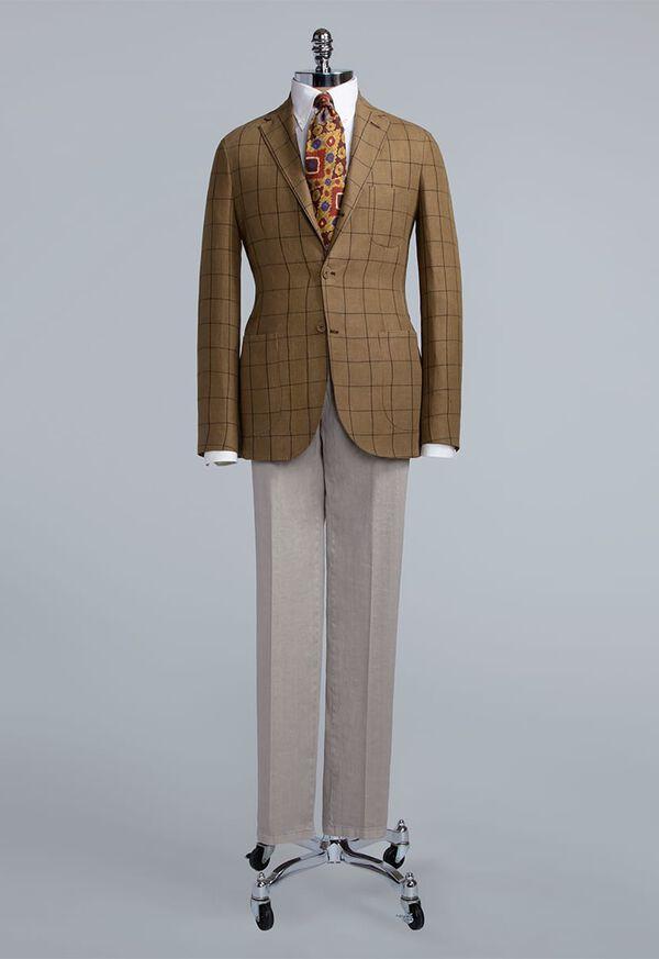 Linen Windowpane Soft Jacket, image 3