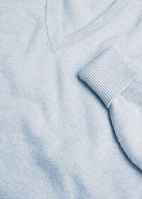 Scottish Cashmere V-Neck Sweater, thumbnail 2