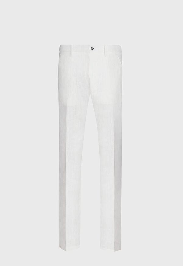 White Linen Pant
