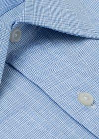 Blue Glen Plaid Cotton Dress Shirt, thumbnail 2