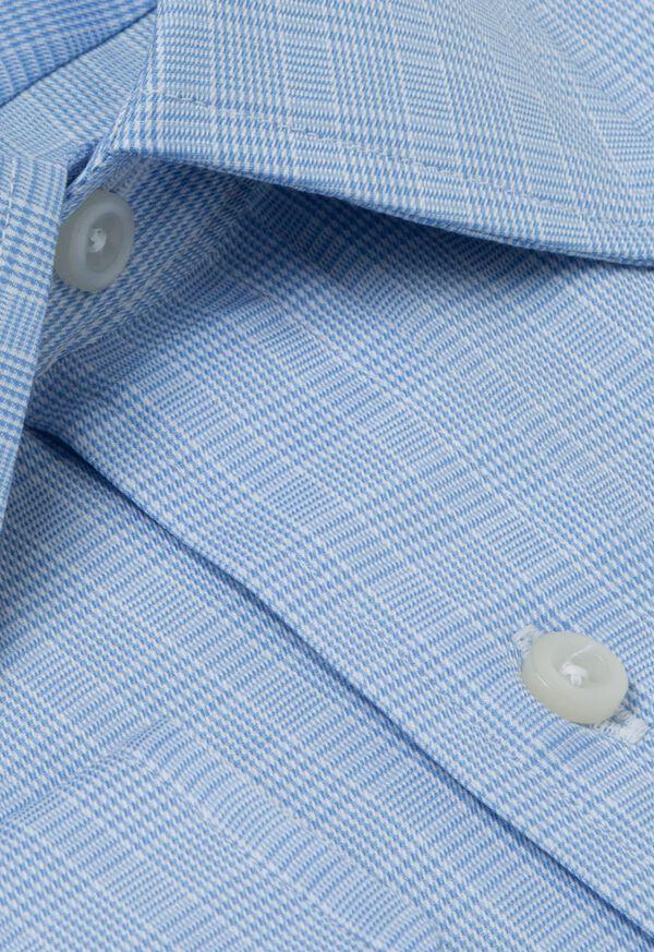 Blue Glen Plaid Cotton Dress Shirt, image 2