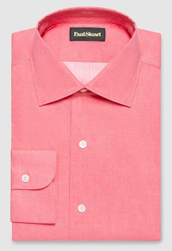 Cotton Crosshatch Sport Shirt, image 1