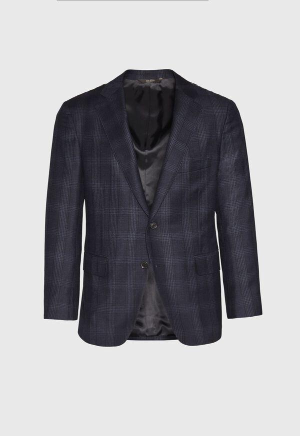 Super 150s Wool Plaid Suit, image 3