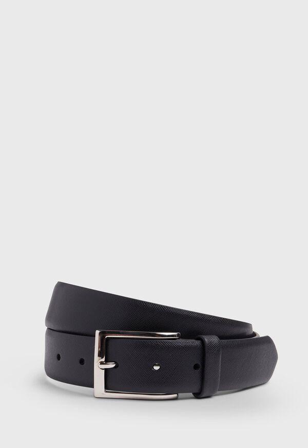 35MM Saffiano Leather Dress Belt