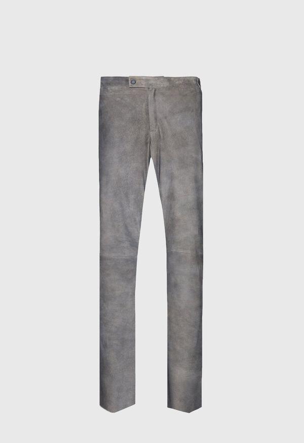 Grey Leather Pant, image 1
