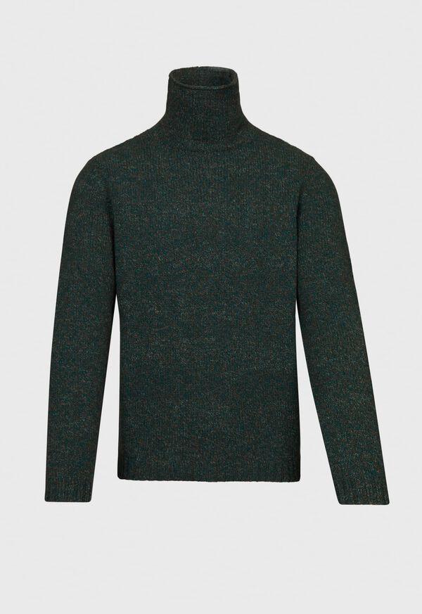 Melange Turtleneck Sweater, image 1
