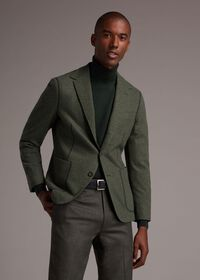 Wool and Cashmere Blend Turtleneck Sweater, thumbnail 2