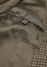 Olive and Sage Houndstooth Sport Jacket, thumbnail 3