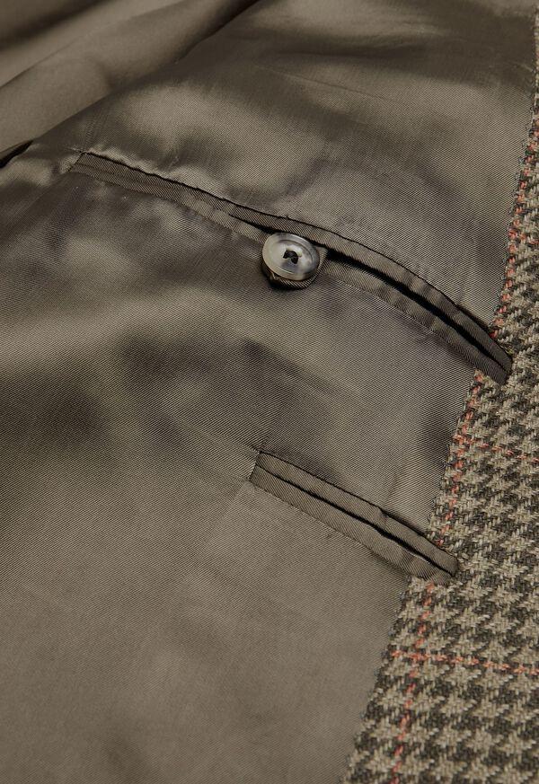 Olive and Sage Houndstooth Sport Jacket, image 3