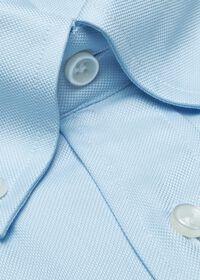 Blue Oxford Traveler Shirt, thumbnail 2