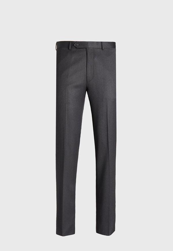 Plain Front Wool Dress Trouser, image 1