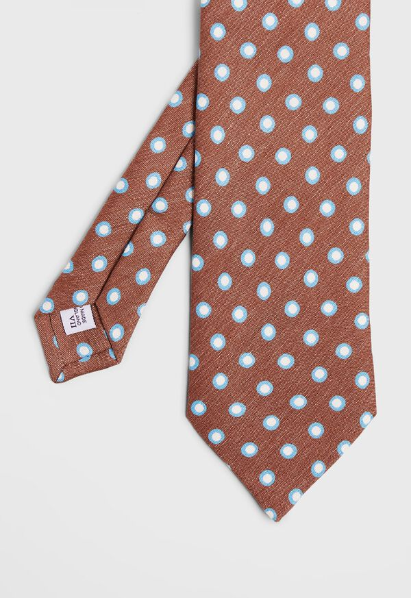 Tossed Framed Circle Tie, image 1