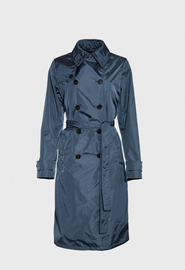 Double Breasted Trench Coat, image 1