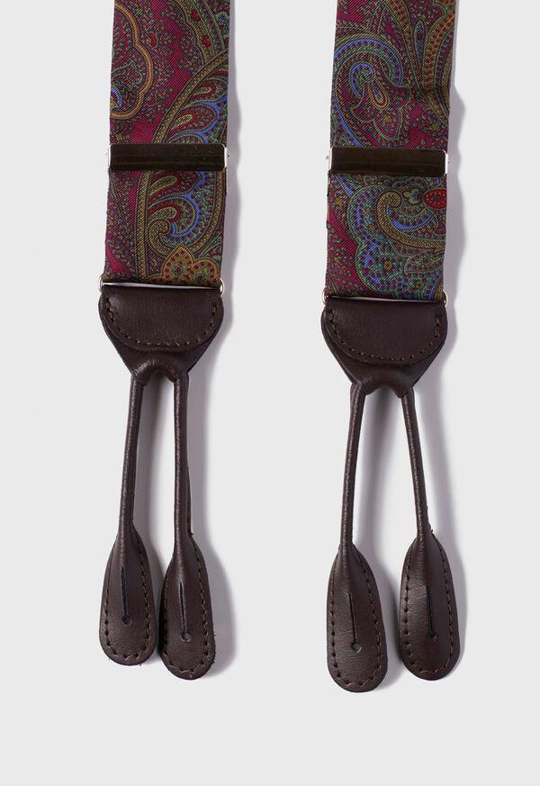 Paisley Silk Braces, image 2