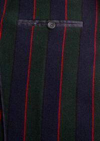 Rice Stitch Merino Wool Stripe Blazer, thumbnail 3