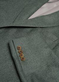 Solid Green Sport Jacket, thumbnail 2