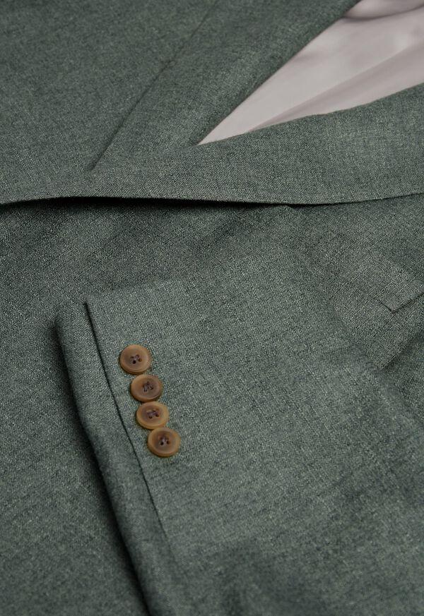 Solid Green Sport Jacket, image 2