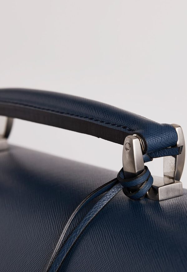 Single Gusset Briefcase With Curved Front Pocket, image 5