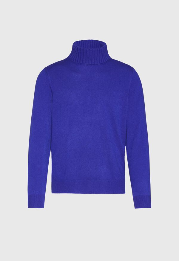 Cashmere Solid Turtleneck, image 3