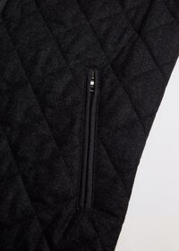 Wool Flannel Quilted Vest, thumbnail 3