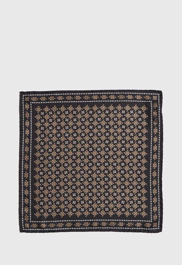 Vintage Silk Pocket Square, image 2