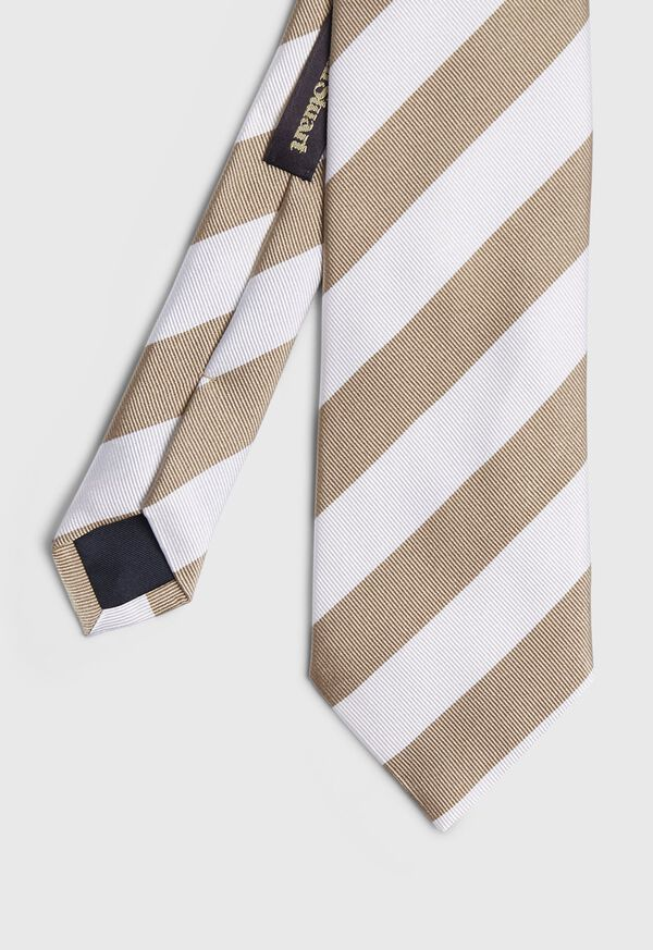 Thick Striped Tie, image 1
