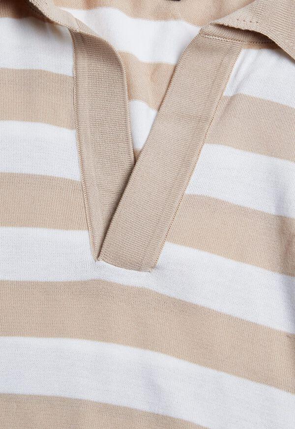 Two Tone Stripe Polo, image 2
