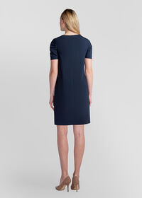 Dress with Ruched Sleeves, thumbnail 4