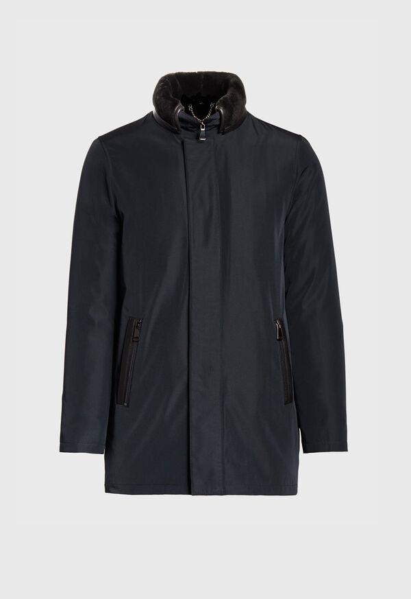 Shearling Rain Jacket, image 1