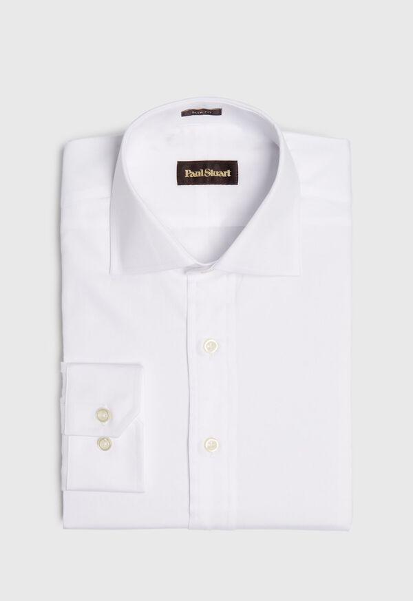 Slim Fit Super 140s Cotton Dress Shirt, image 1