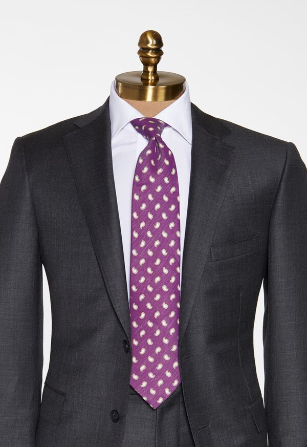 Tossed Framed Paisley Tie, image 2