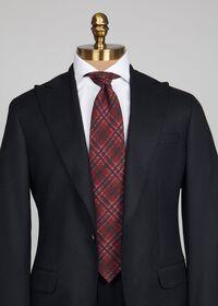 Wool Plaid Tie, thumbnail 2