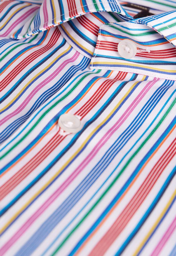 Multi Stripe Sport Shirt, image 2