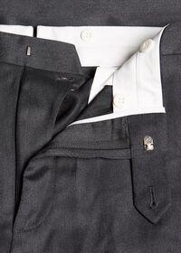 Plain Front Wool Dress Trouser, thumbnail 2
