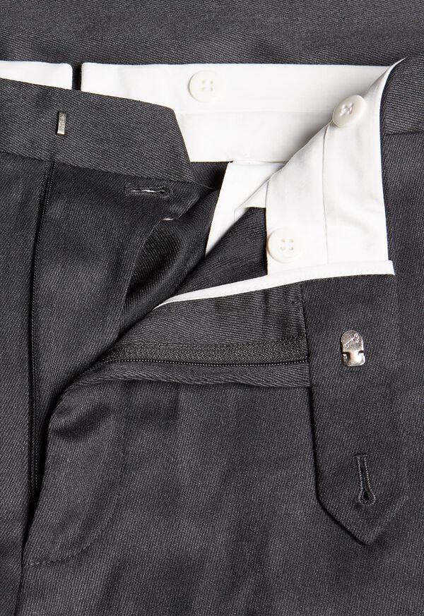 Plain Front Wool Dress Trouser, image 2