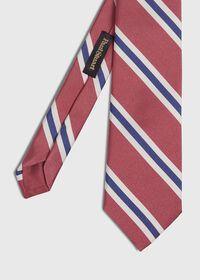 Silk Stripe Tie, thumbnail 1