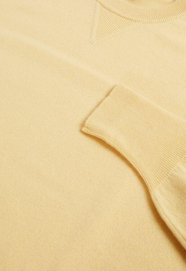 Single Ply Cashmere Sweatshirt, image 10