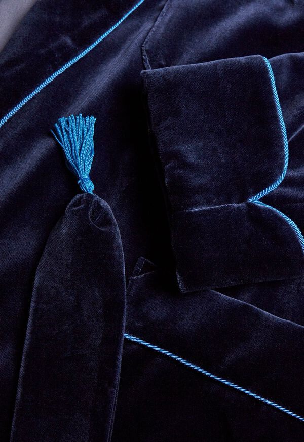 Velvet Smoking Jacket, image 2