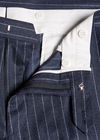 Paul Fit Chalk Stripe Super 120s Wool Suit, thumbnail 7