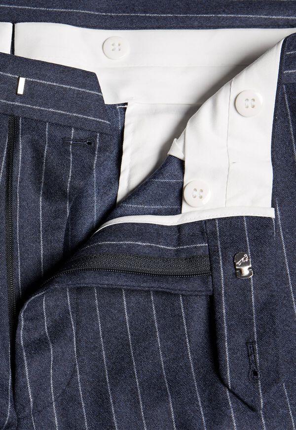 Paul Fit Chalk Stripe Super 120s Wool Suit, image 7