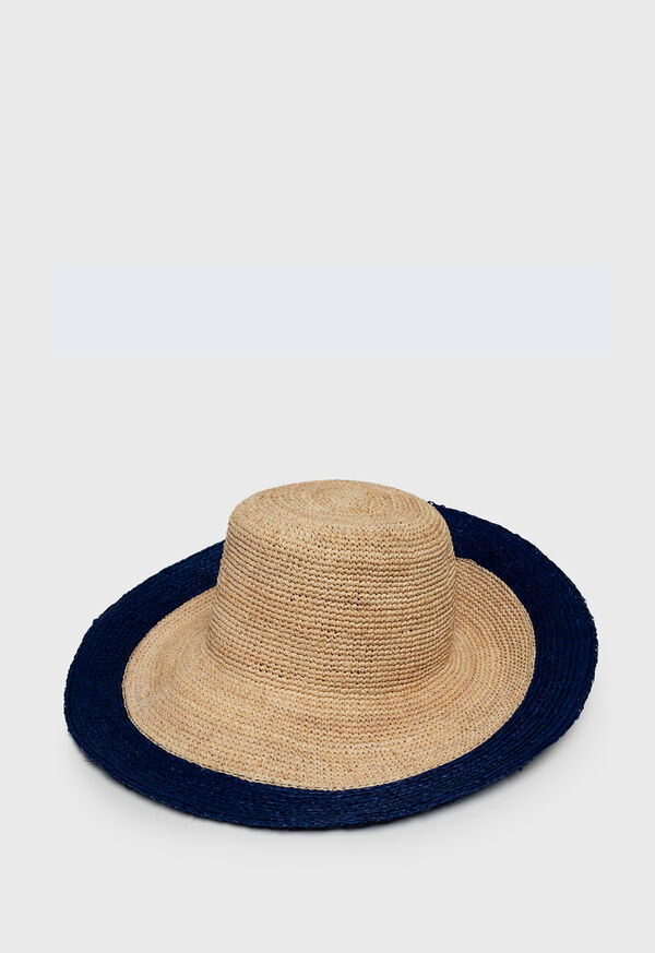 Sunhat with Navy Brim, image 1