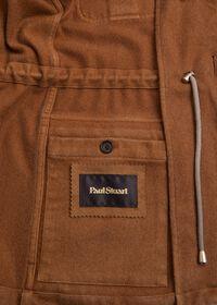 Garment Washed Cashmere Safari Jacket, thumbnail 3