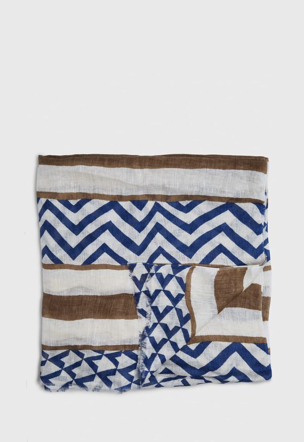 Linen Printed Scarf