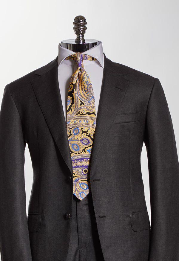 Silk Paisley Tie, image 2