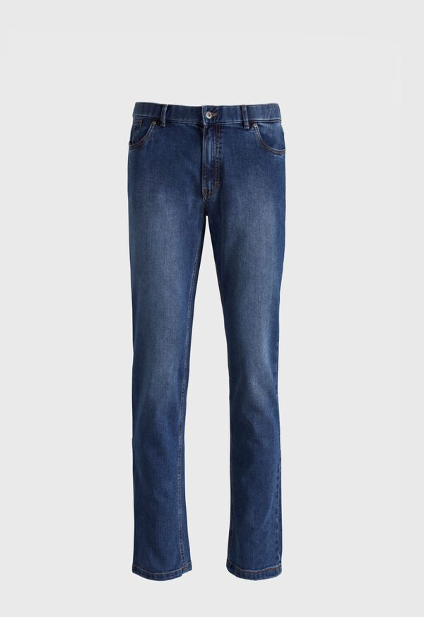 Stone Washed Jean Pant, image 1