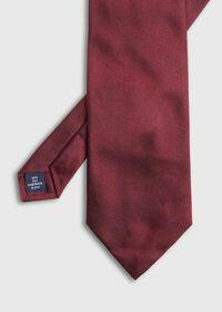 Burgundy Hunter Silk Tie, thumbnail 2