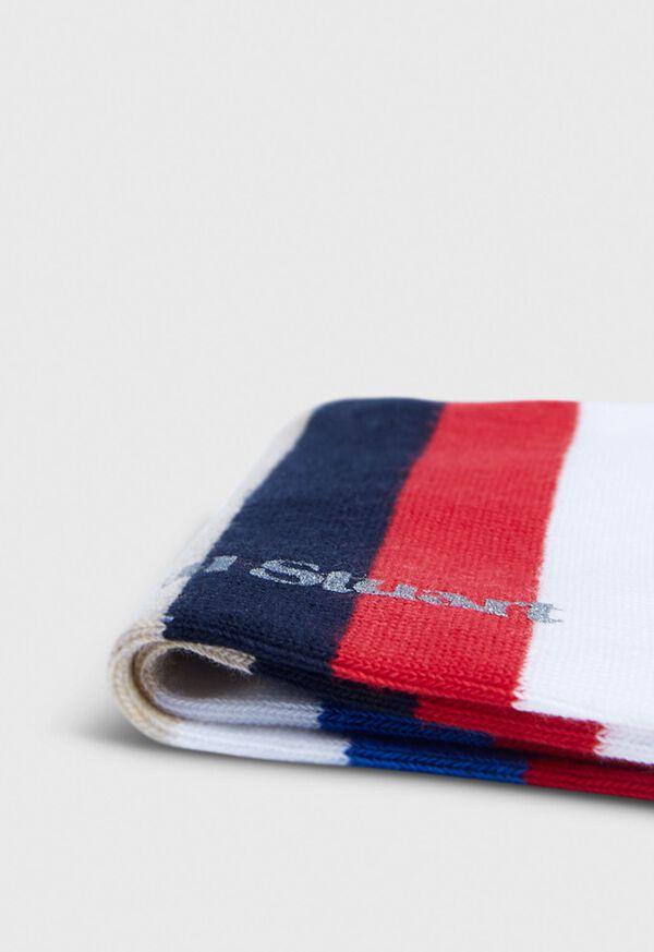Stripe Trainer Ankle Sock, image 2