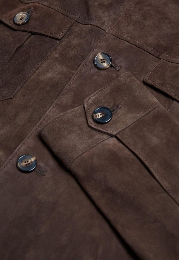 Safari Style Suede Jacket, image 2